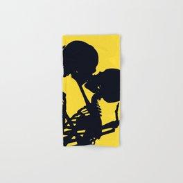 Skeleton love Hand & Bath Towel