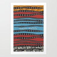 hakuna Art Prints featuring HaKuNa MaTaTa by Detailicious