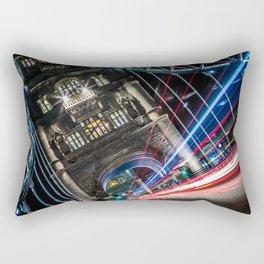 Tower Bridge Traffic Rectangular Pillow