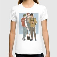 college T-shirts featuring College AU Zarriall by vulcains