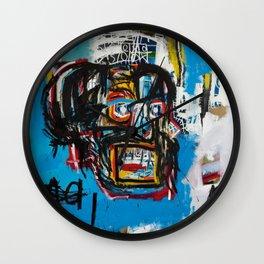 Jean-Michel Basquiat, Untitled Skull (1982) - Society6 Best Artwork  Home Decor Wall Clock