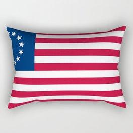 United States (Betsy Ross) Flag Rectangular Pillow