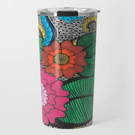 Octopus Flower (Color) Travel Mug