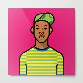 Prince of Bel Air Metal Print