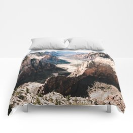 Zion Canyon National Park Comforters