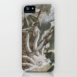 Alexander's Leviathan iPhone Case