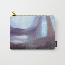 Colorful fantasy landscape drawing Carry-All Pouch