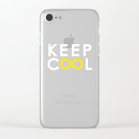 Forever coolness Clear iPhone Case