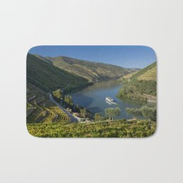 The Douro valley Bath Mat