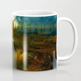 Landscape of Skyrim Coffee Mug