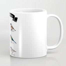 Funny Nice tits Birdwatching Bird Gift Coffee Mug