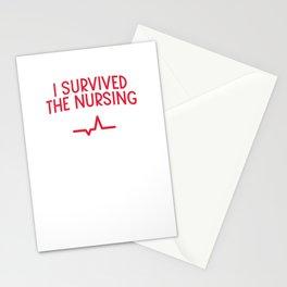Nurse practitioner virus flu pill Stationery Cards