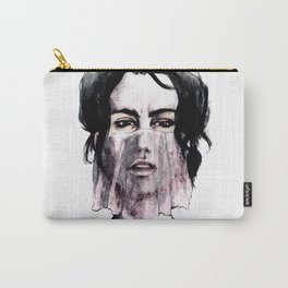 Veil in Pink Carry-All Pouch