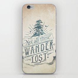 Im a wanderer iPhone Skin