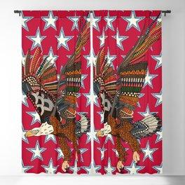 USA eagle red Blackout Curtain