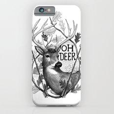 Oh Deer B&W iPhone 6s Slim Case