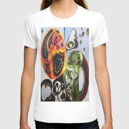 """""""Heart Spores"""" - Oils on original. T-shirt"""