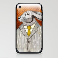 El conejo careta iPhone & iPod Skin