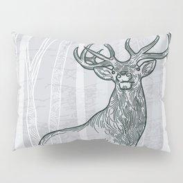 Elk Scene Pillow Sham