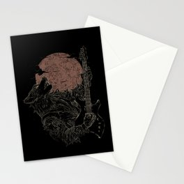The Rock Werewolf Stationery Cards