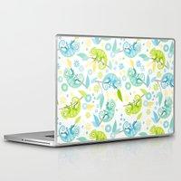 chameleon Laptop & iPad Skins featuring Chameleon by Heleen van Buul