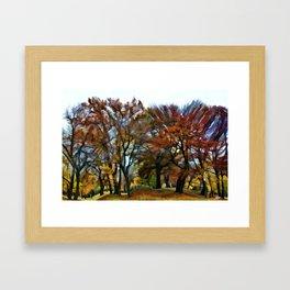Fall at Willistead Framed Art Print