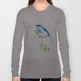 Mountain Bluebird homde decor Long Sleeve T-shirt