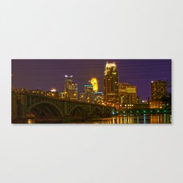 Stone Arch Bridge - Minneapolis MN Canvas Print