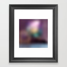 TRANSLUCENTE | Purple Framed Art Print