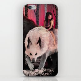 With my wolves iPhone Skin