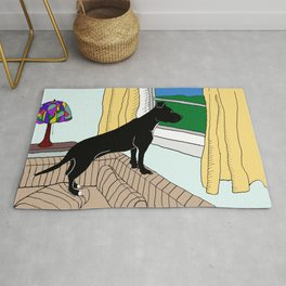 Pitbull Lookout Rug