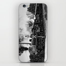 Southern Pacific Steam Locomotive Near Kearney & Liberty Missouri iPhone Skin