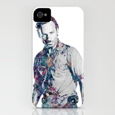 Rick Grimes iPhone (4, 4s) Slim Case