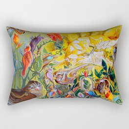 Bird-town Rectangular Pillow