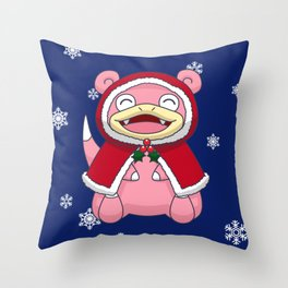 Wintertime Derp Throw Pillow