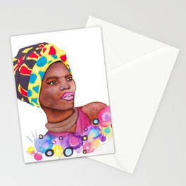 Haitian Woman Stationery Cards