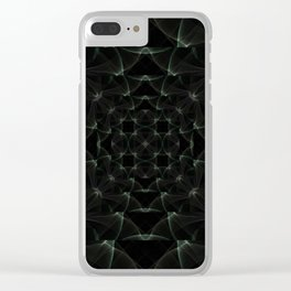 Into the Depths Clear iPhone Case