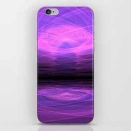 Purple Lake iPhone Skin