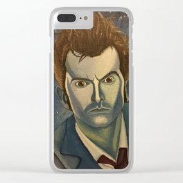 Doctor Who - David Tenant Clear iPhone Case