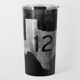 Texas Ranch Road 12 Travel Mug