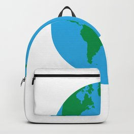 i respect my mother mother earth respect save Backpack