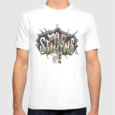 Wyld Stallyns Mens Fitted Tee White MEDIUM