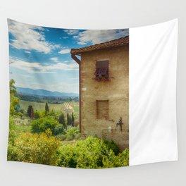 San Gimignano, Tuscany, Italy Wall Tapestry