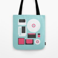 gamer Tote Bags featuring Gamer by Nicolas Beaujouan