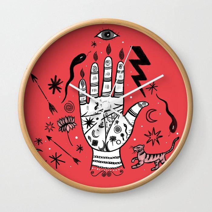 Spiritual Hand Wall Clock