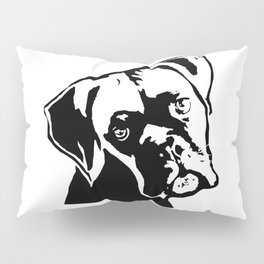 CHRISTMAS WITH THE BOXER DOG FOR YOU FROM MONOFACES Pillow Sham