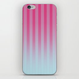 Gradient Stripes Pattern mt iPhone Skin