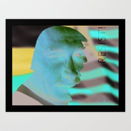Facing Collusion Art Print