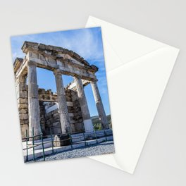 ruins of ancient city of Messina, Peloponnese Stationery Cards