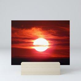 Fireball Above the Saint-Lawrence Mini Art Print